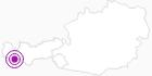 Unterkunft Hotel Garni Bel-Ami in Paznaun - Ischgl: Position auf der Karte