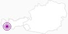 Unterkunft Hotelresidenz Glöckner in Paznaun - Ischgl: Position auf der Karte