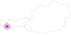 Unterkunft Hotel Garni Urezza in Paznaun - Ischgl: Position auf der Karte