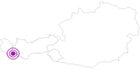 Accommodation Frühstückspension Piz Palü in Paznaun - Ischgl: Position on map