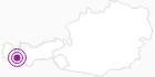 Unterkunft Fewo Sun Alpin in Paznaun - Ischgl: Position auf der Karte
