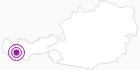 Unterkunft Gasthof Alpenfrieden in Paznaun - Ischgl: Position auf der Karte
