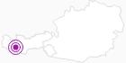 Unterkunft Frühstückspension Enzian in Paznaun - Ischgl: Position auf der Karte