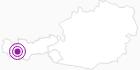 Unterkunft Frühstückspension Hellis Einkehr-Siegele in Paznaun - Ischgl: Position auf der Karte