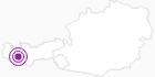 Unterkunft Jugendherberge Huisleralm in Paznaun - Ischgl: Position auf der Karte