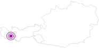 Unterkunft Privatzimmer Al`Aua in Paznaun - Ischgl: Position auf der Karte