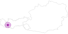 Unterkunft Privatzimmer Verwall in Paznaun - Ischgl: Position auf der Karte