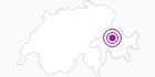 Unterkunft Fam. W. Nicolaus in Chur: Position auf der Karte
