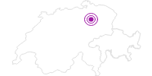 Unterkunft Fam. H.-P. Schmid in Chur: Position auf der Karte
