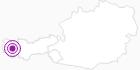 Unterkunft Hotel Lech & Hotel Chesa Rosa am Arlberg: Position auf der Karte