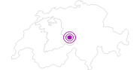 Unterkunft Chalet Sunnsyten im Haslital: Position auf der Karte