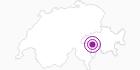 Unterkunft Hotel Alpina in Vals: Position auf der Karte