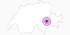 Unterkunft Hotel Valserhof in Vals: Position auf der Karte