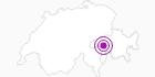 Unterkunft Fewo 1019 in Vals: Position auf der Karte