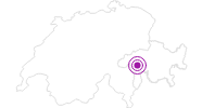 Accommodation Fewo 1037 in Vals: Position on map