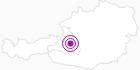 Unterkunft Hotel Felsenhof in der Salzburger Sportwelt: Position auf der Karte