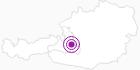 Unterkunft Aparthotel-Garni Paradies in der Salzburger Sportwelt: Position auf der Karte
