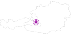 Unterkunft Ferienwohnungen Kohlerhaus in der Salzburger Sportwelt: Position auf der Karte