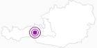 Unterkunft Appartements Gasthof Friedburg in Nationalpark Hohe Tauern: Position auf der Karte