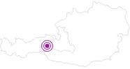 Unterkunft Bauernhaus Kühnreit in Nationalpark Hohe Tauern: Position auf der Karte
