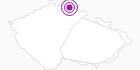 Unterkunft Chalet Hrebenka Tschechisches Riesengebirge: Position auf der Karte
