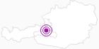 Unterkunft Bike & Snow Hotel- Restaurant Lederer am Hochkönig: Position auf der Karte