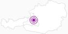 Unterkunft Wenger Alpenhof in Salzburg & Umgebungsorte: Position auf der Karte