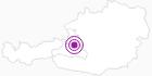 Unterkunft Café-Restaurant-Pension Zistelberghof am Hochkönig: Position auf der Karte