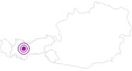 Unterkunft Acherbergalm Ötztal: Position auf der Karte