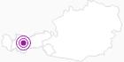 Unterkunft Kühtaile Alm Ötztal: Position auf der Karte
