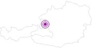 Unterkunft Erich Leitner in Salzburg & Umgebungsorte: Position auf der Karte