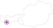 Unterkunft Apart Claudia im Tiroler Oberland: Position auf der Karte