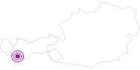 Unterkunft Haus Rosa im Tiroler Oberland: Position auf der Karte