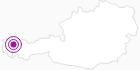 Unterkunft Ferienhaus Alpenglühn im Kleinwalsertal: Position auf der Karte