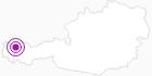 Unterkunft Buchenbachhütte im Kleinwalsertal: Position auf der Karte