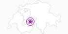 Unterkunft Chalet Nevada in der Jungfrau Region: Position auf der Karte