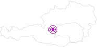 Unterkunft Hütte Holzeralm in Schladming-Dachstein: Position auf der Karte