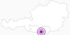 Unterkunft Gästehaus Christof in Klagenfurt: Position auf der Karte