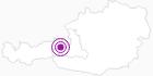 Unterkunft Oberwallegg Alm in Saalbach-Hinterglemm: Position auf der Karte