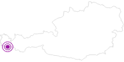 Unterkunft Aktivhotel BASEmontafon in Montafon: Position auf der Karte