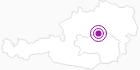 Unterkunft Ferienhaus Ehrenreith in der Alpenregion Nationalpark Gesäuse: Position auf der Karte