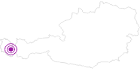 Unterkunft Haus Schmid in der Alpenregion Bludenz: Position auf der Karte