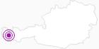 Unterkunft Haus Walch in der Alpenregion Bludenz: Position auf der Karte