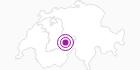 Unterkunft unter Eiger in der Jungfrau Region: Position auf der Karte