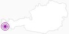 Unterkunft Pension Mottabella in Montafon: Position auf der Karte