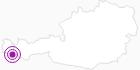 Unterkunft Gästehaus Gschaider in Montafon: Position auf der Karte