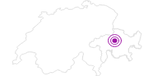 Unterkunft Hotel Spescha in Arosa: Position auf der Karte