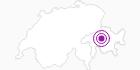 Unterkunft Hotel Berghaus Tgantieni in Arosa: Position auf der Karte