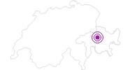 Unterkunft Hotel Pöstli in Arosa: Position auf der Karte