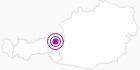 Unterkunft Ferienhaus Friedenau im Pillerseetal: Position auf der Karte